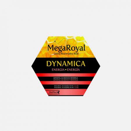Mega Royal Dynamica Ampolas – 20 ampolas – DietMed