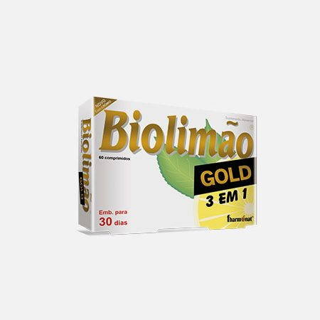 Biolimão Gold 3 em 1 – 60 comprimidos – Fharmonat
