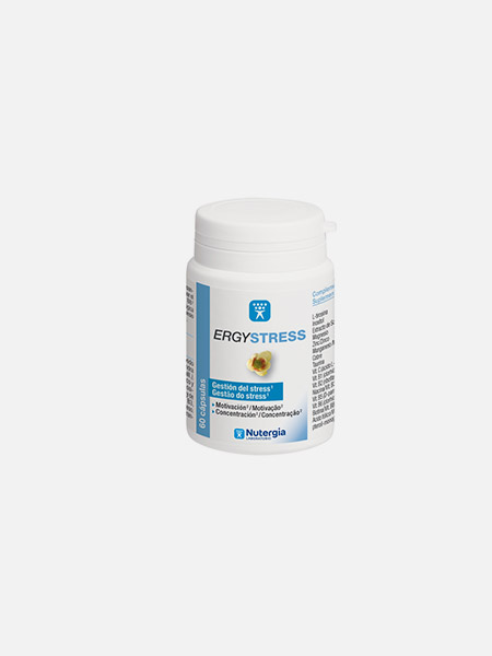 ErgyStress - 60 cápsulas - Nutergia