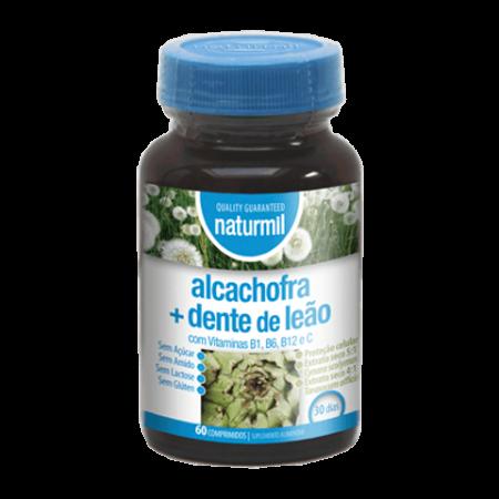 Naturmil Alcachofra + Dente-de-Leão – 60 comprimidos – DietMed