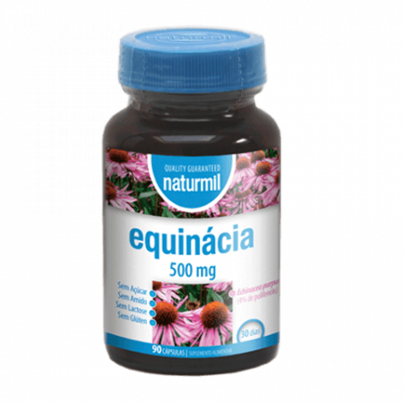 Naturmil Equinácia 500 mg – DietMed – 90 Cápsulas
