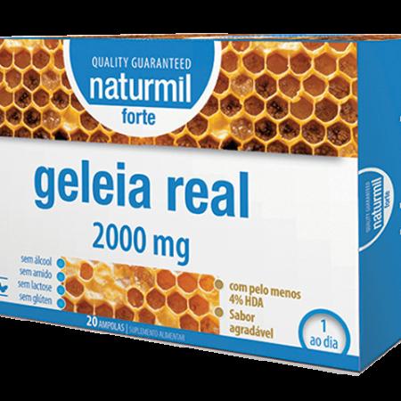 Naturmil Geleia Real Forte Ampolas – 20 ampolas – DietMed
