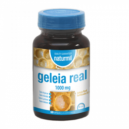 Naturmil Geleia Real Capsulas – 60 cápsulas – DietMed