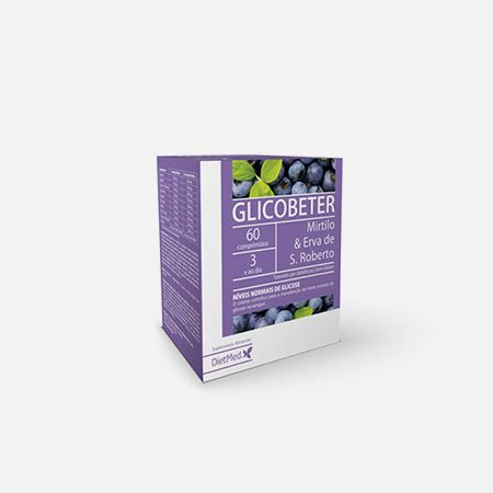 Glicobeter Comprimidos – 60 comprimidos – DietMed