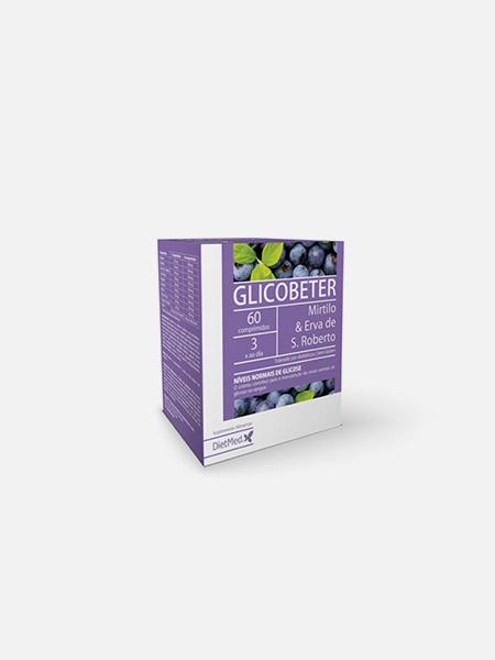 Glicobeter Comprimidos - 60 comprimidos - DietMed