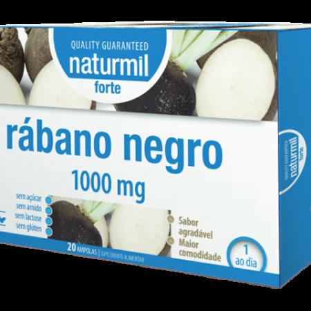 Naturmil Rábano Negro Forte Ampolas – 20 ampolas – DietMed