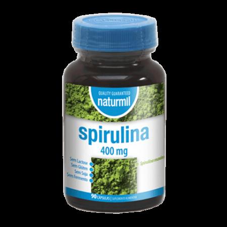 Naturmil Spirulina 400 mg – DietMed – 90 cápsulas