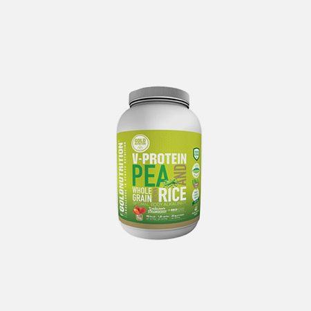 V-Protein Whole Grain Pea & Rice Morango – 1 Kg – Gold Nutrition