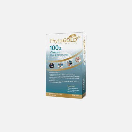 100% Cerebro Para Homem Atual- 30 ampolas – PhytoGold