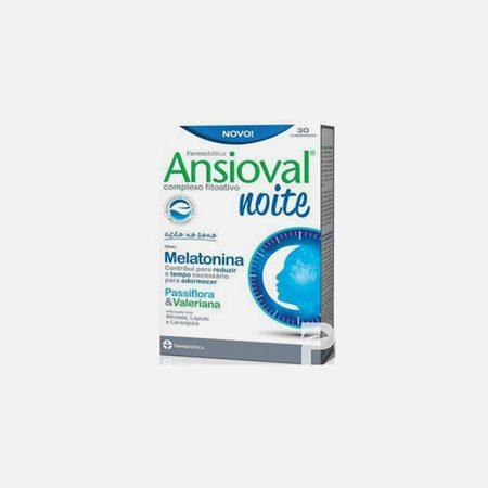 Ansioval Noite – 30 comprimidos – Farmodietica