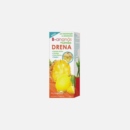 B – Ananás + Limão Drena – 500 mL – PhytoGold