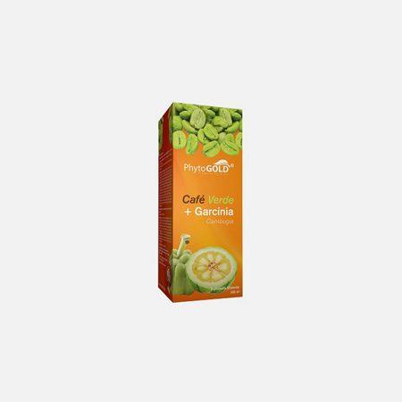 Café Verde e Garcinia cambogia Xarope – PhytoGold – 500 mL