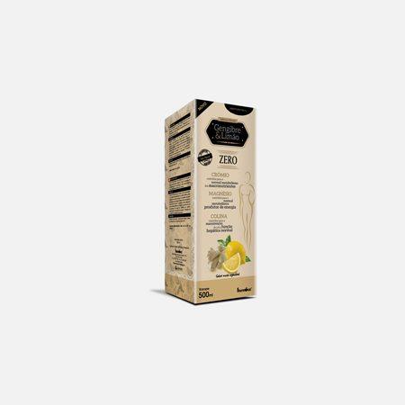 Gengibre e Limão Zero xarope – 500 ml – Fharmonat