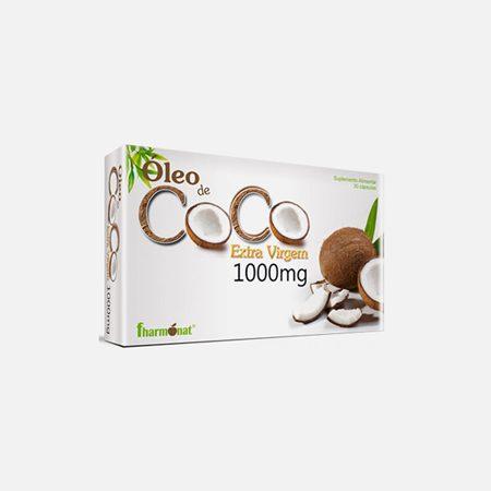 Óleo de Coco Extra Virgem 1000mg – 30 Cápsulas – Fharmonat