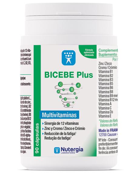 BICEBE Plus - 90 cápsulas - Nutergia