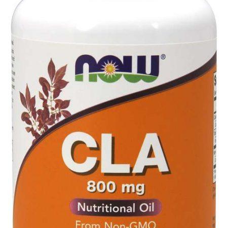 CLA (Ácido Linoleico Conjugado) 800mg – 90 cápsulas – NOW