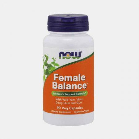 Female Balance – 90 cápsulas – NOW