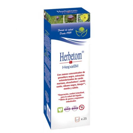 Herbetom 1 HepaBil – 250ml – Bioserum