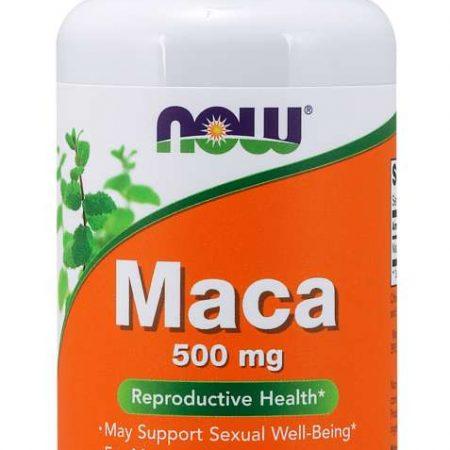 Maca 500 mg – 100 cápsulas – Now