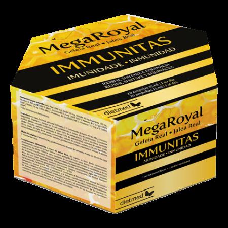 Mega Royal Immunitas – 20 ampolas – DietMed