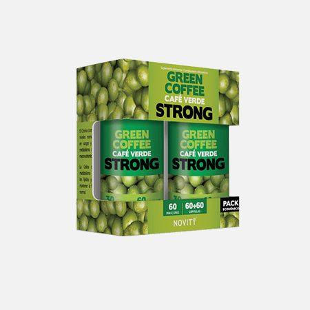 Novity Café Verde Strong pack económico – 60+60 cápsulas – DietMed