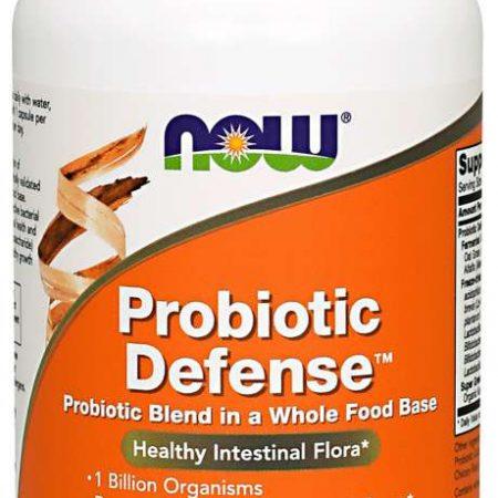 Probiotic Defense – 90 cápsulas- Now