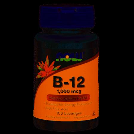 Vitamina B12 1000mcg – 100 losangos – Now