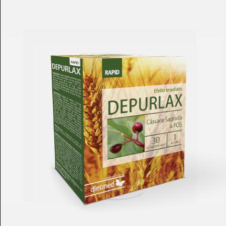 Depurlax rapid – 30 comprimidos – DietMed
