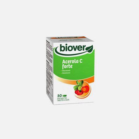 Acerola C Forte 500mg – 50 Comprimidos – Biover