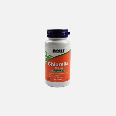 Clorela (chlorella) 1000mg – 60 comprimidos – Now