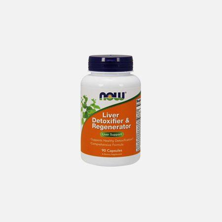 Liver detoxifier & regenerator – 90 cápsulas – Now