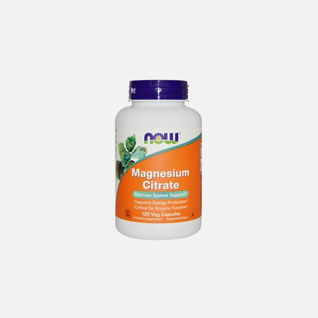Magnesium citrate 200 mg – Now – 100 comprimidos