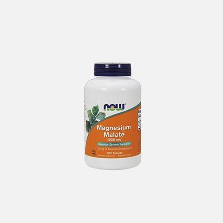 MAGNESIUM MALATE 1000 mg – 180 comprimidos – Now