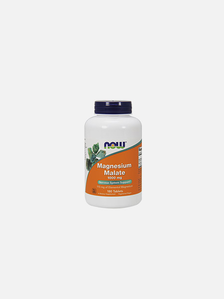 Magnesium Malate 1000 mg - 180 comprimidos - Now