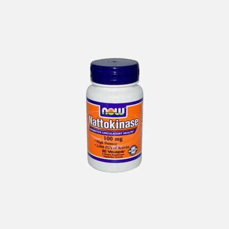 Nattokinase – 100mg – 60 cápsulas – Now