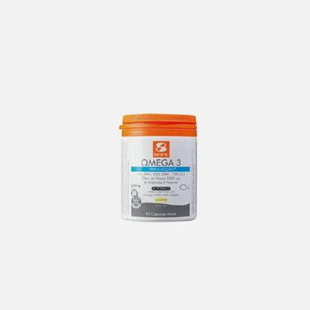 Omega 3 1000mg Tripla Ação – 90 Cápsulas – BioFil