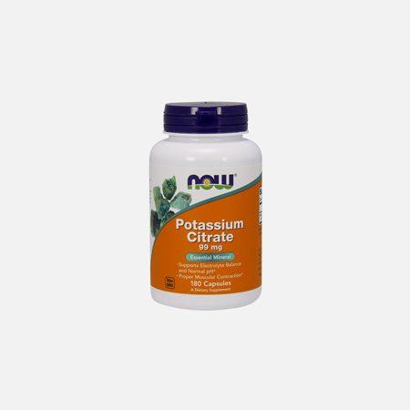 Potassium Citrate 99mg – 180 comprimidos – Now