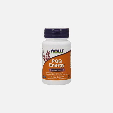 PQQ Energy – 30 cápsulas – Now
