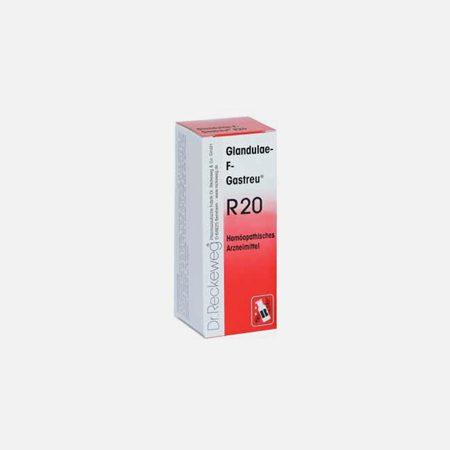 R20 Disfunções glandulares femininas, Obesidade – 50ml – Dr. Reckeweg