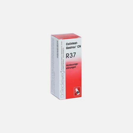 R37 50ml – Cólicas flatulentes, Obstipação crónica – Dr. Reckeweg