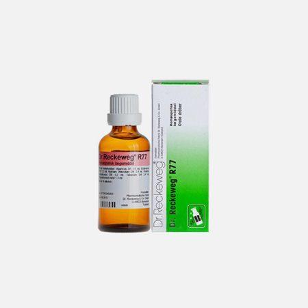 R77 Desabituação de Fumar – 50ml –  Dr. Reckeweg