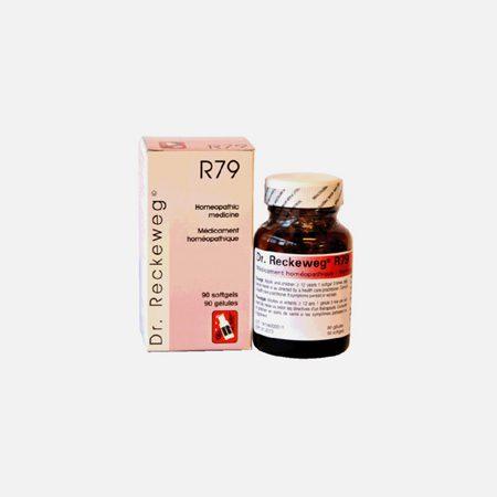 R79 Hiperlipidémica, Arteriosclesose, Hipertensão– 48 cápsulas –  Dr. Reckeweg