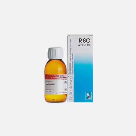 R80 Óleo para dores musculares – 100ml –  Dr. Reckeweg