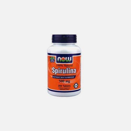 Spirulina (500mg) – 200 comprimidos – Now