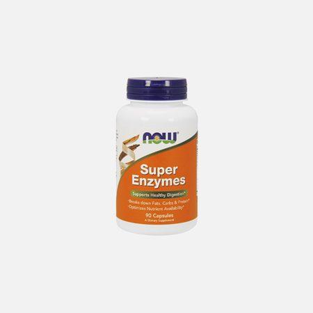 Super Enzymes – 90 comprimidos – Now