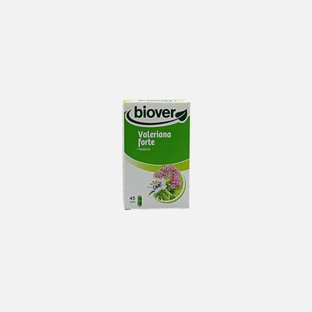 Valeriana Forte – 45 cápsulas  – Biover