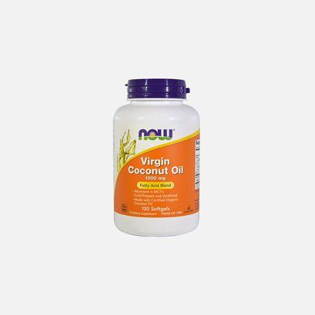 Virgin Coconut Oil 1000mg – 120 cápsulas – Now
