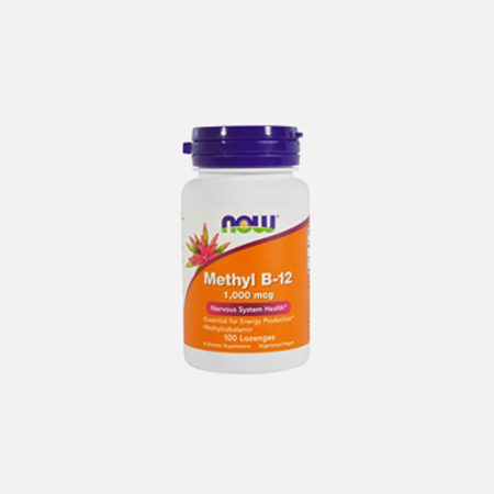 Methyl B12 1000 mcg – 100 losangos – Now