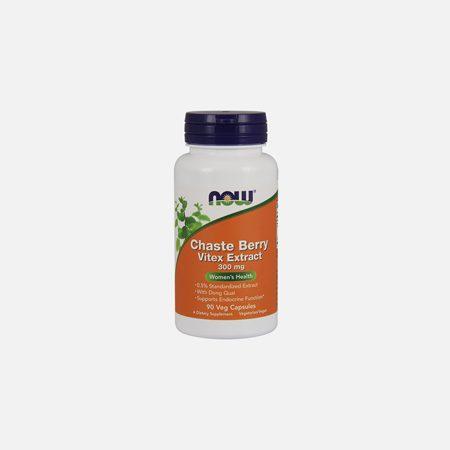 Chaste Berry Vitex Extract 300mg – 90 capsulas – Now