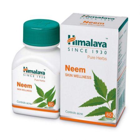 Herbals Neem (Nima-Doencas De Pele) – 60 Drageias – Himalaya